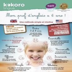 Apprendre anglais pour enfant 3 à 8 ans - Méthode Cours Kokoro lingua