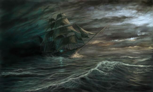 Des Mystérieux Vaisseaux Fantômes &  Des Histoires Hantées...  Du Monde Maritime...