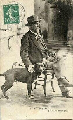 Il y a 100 ans Frédéric Mistral