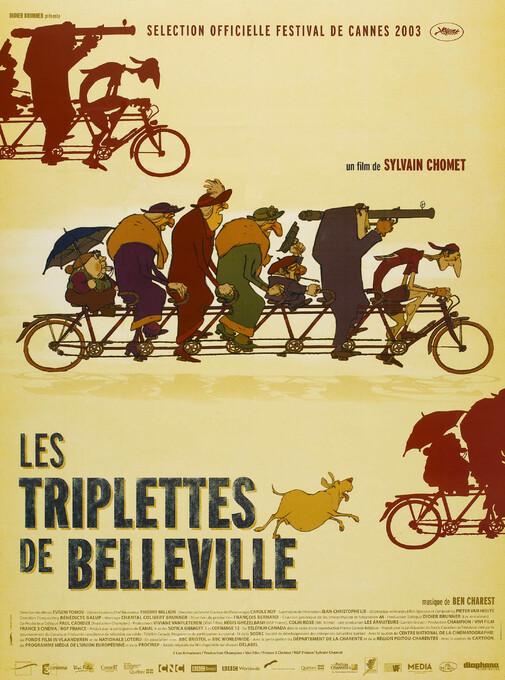 LES TRIPLETTES DE BELLEVILLE BOX OFFICE FRANCE 2003