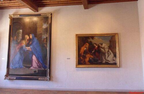 Echappée belle Avignonnaise. Villeneuve- lès-Avignon. Le musée Pierre-de-Luxembourg.