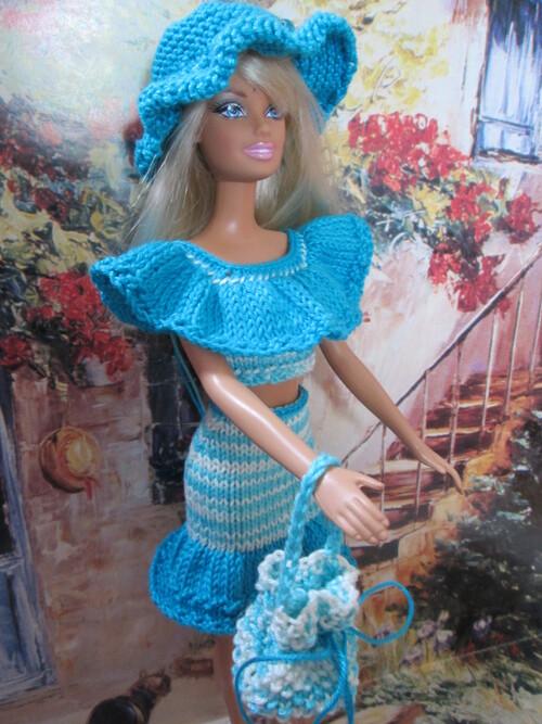Sacs et chapeaux pour barbie