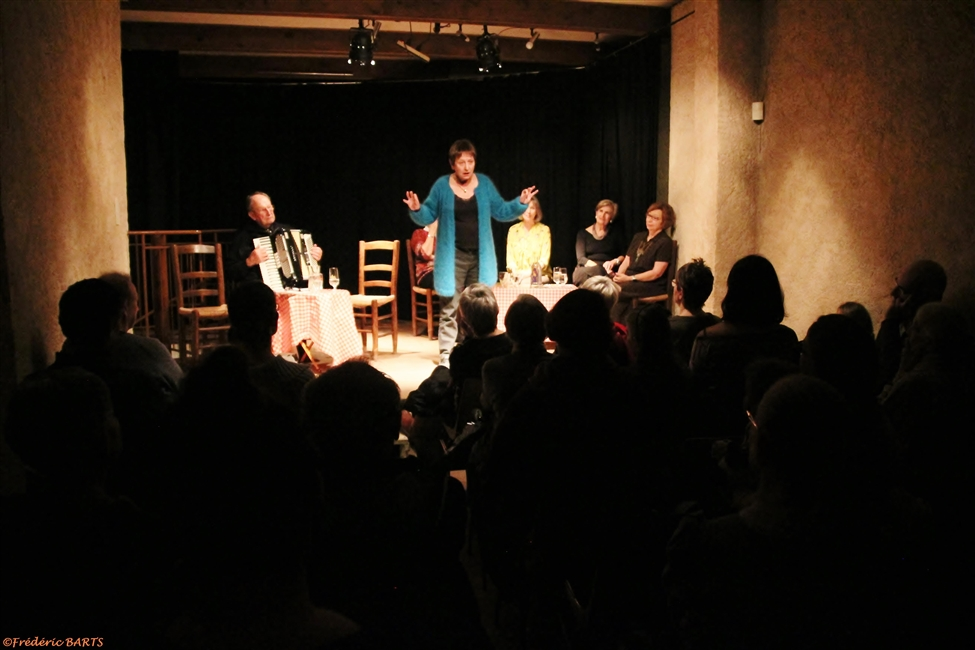 RETOUR SUR Mille et une Paroles spectacle de conteuses du 08/12/2017 à 20h30