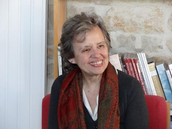 Sara, auteur de livres pour enfants, à la médiathèque de Laignes...