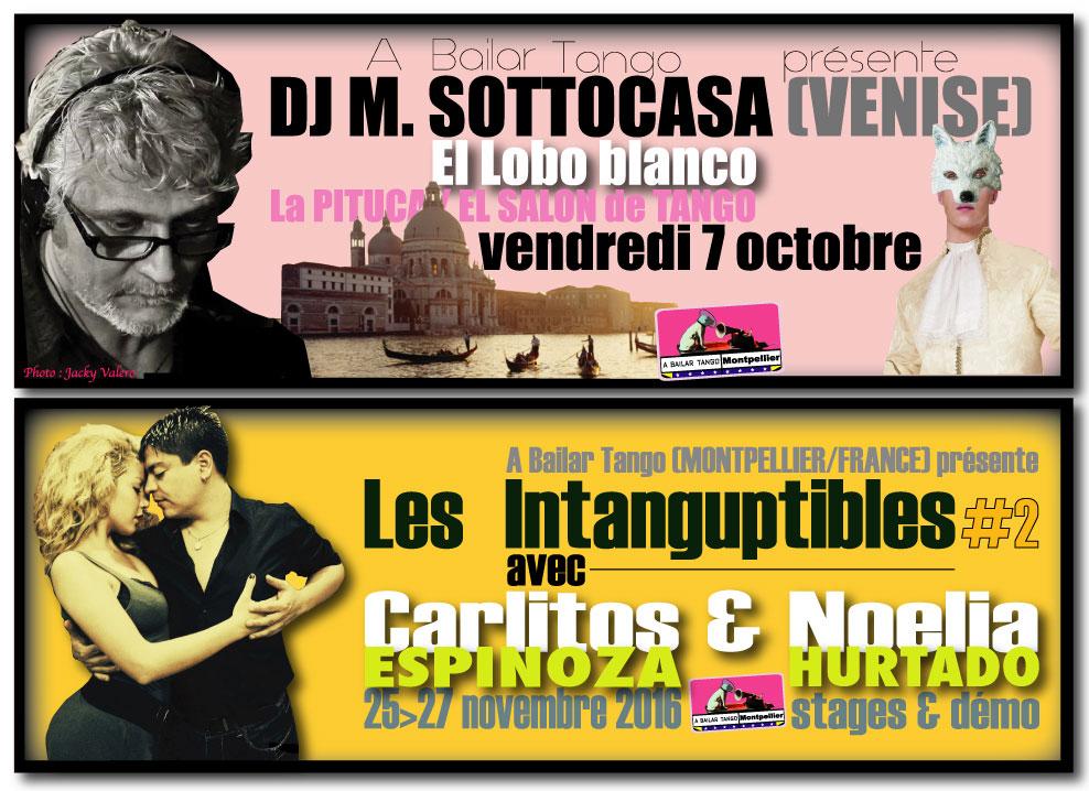 ★ La PITUCA soigne son standing européen ce vendr.7 oct avec DJ SOTTOCASA (Venise) ★