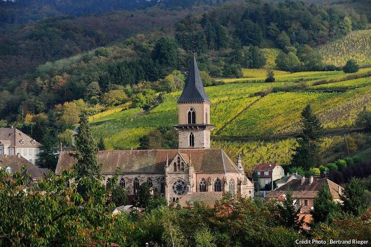 Le village de Ribeauvillé, en Alsace