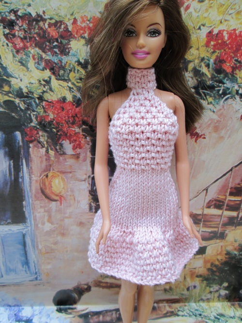 Robes dos nus pour barbie