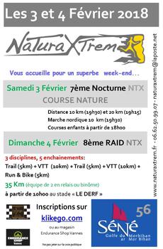 NaturaXtrem - Séné - Samedi 3 février 2018