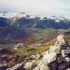 Du sommet du Soum de las Picarras (1349 m), Lauriolle, Montagnon, Aran, Ourlène et Bénou