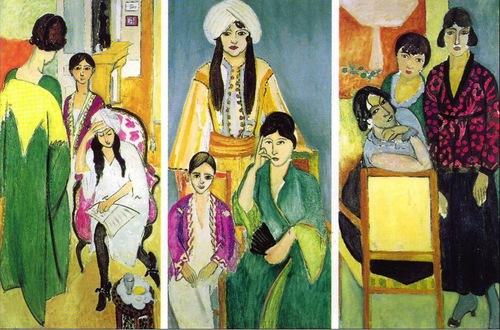 3 soeurs en peinture