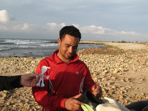 Un pêcheur marocain