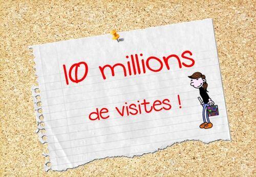 10 000 000 de visiteurs!