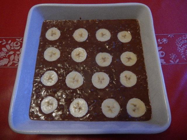 Recette: Gâteau ou petits fondants chocolat et bananes