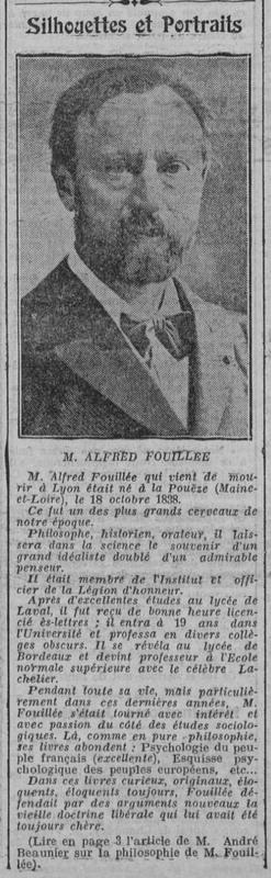 Alfred Fouillée