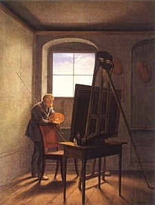 caspar david friedrich atelie hi