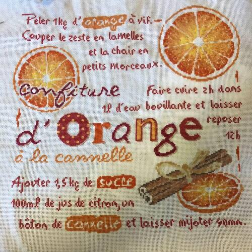 confiture d'orange de Lilipoint