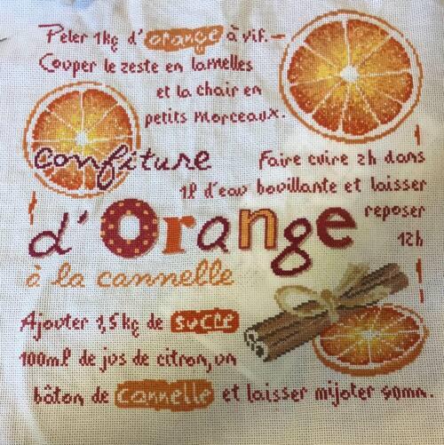 confiture d'orange de Lilipoint