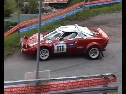 """Lancia Stratos rallye """"Solido"""" 1/43ème."""
