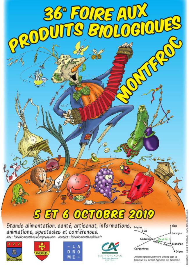 *Foire Bio Montfroc - Appel aux Bénévoles !