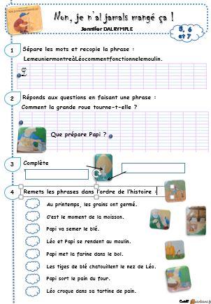 Lecture Ce1 Le Petit Cartable De Sanleane