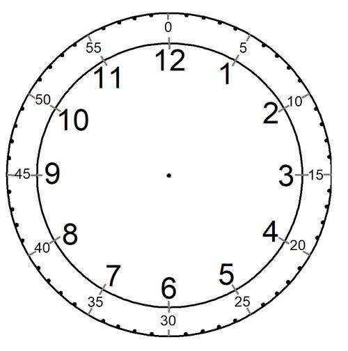 Fabrication d'une horloge