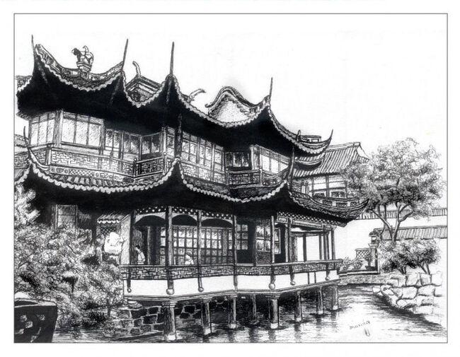 Shanghai - les jardins ming Yuyuan