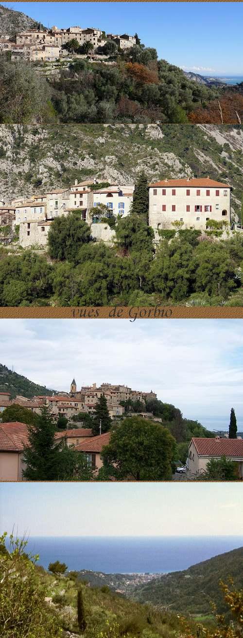 COTE D'AZUR :  Villes et Villages.