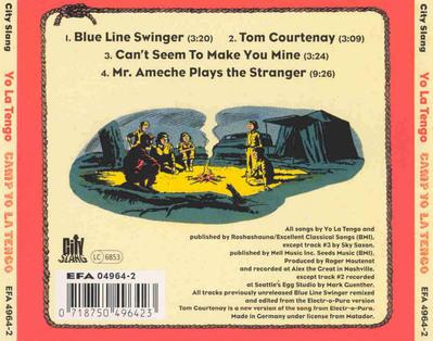 Les SINGLéS  - Yo La Tengo - Camp Yo La Tengo EP (1995)