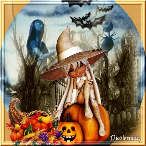créa perso sur halloween