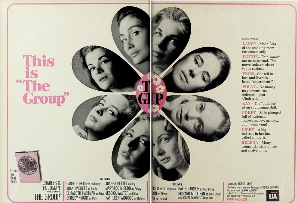 THE GROUP BOX OFFICE USA 1966