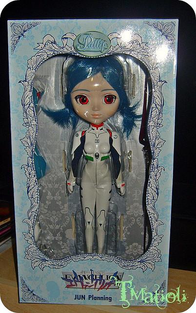 Février 2008 : Pullip Rei Ayanami