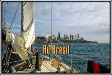 Le long des côtes du Brésil