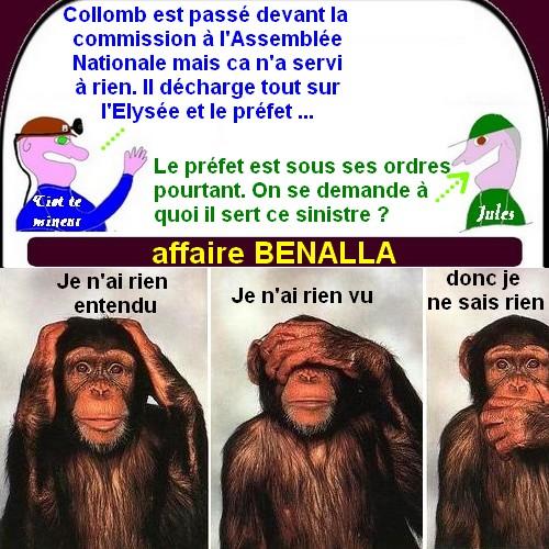 Macron et Benalla, grèce, police etc.. ce sont les petites infos du mardi.