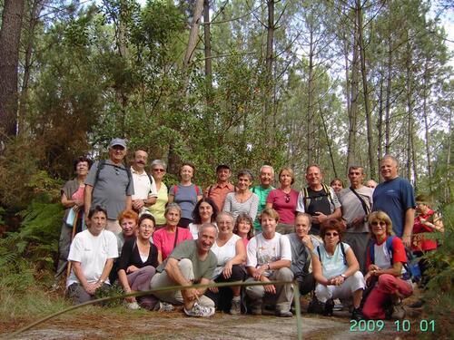 Le groupe à Capbreton