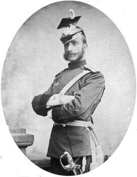 Alphonse XII d'Espagne.