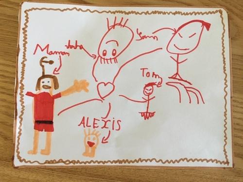 Défi n°2 : Dessine un portrait de ta famille !