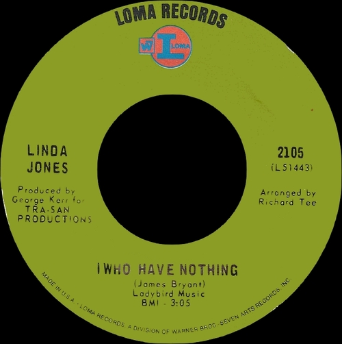 "Linda Jones : CD "" Ooh Baby You Move Me 1968-1970 "" SB Records DP 96 [ FR ]"