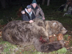 Une chasse à l'ours Kodiak