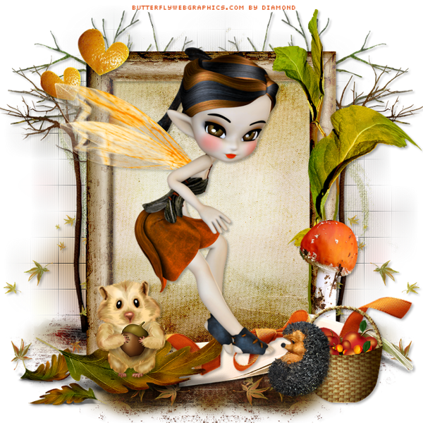 "Tutoriel ""Autumn Tale"" de Design Studio Psp traduit chez Delire2scrap"
