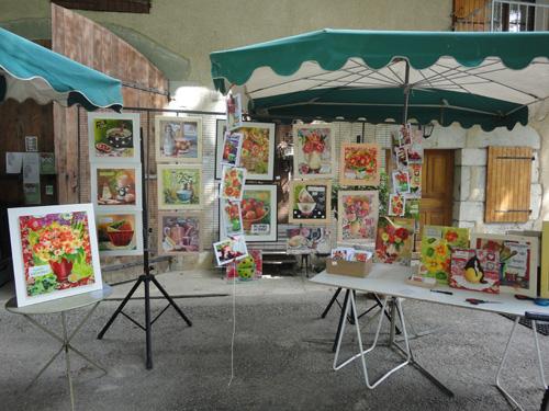Expo à la ferme des Eaux Vives