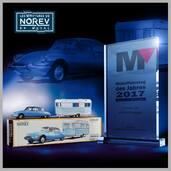 1:43 NOREV Classics CL1511 Citroën DS + caravane (prix 2017 Modell Fahrzeug)