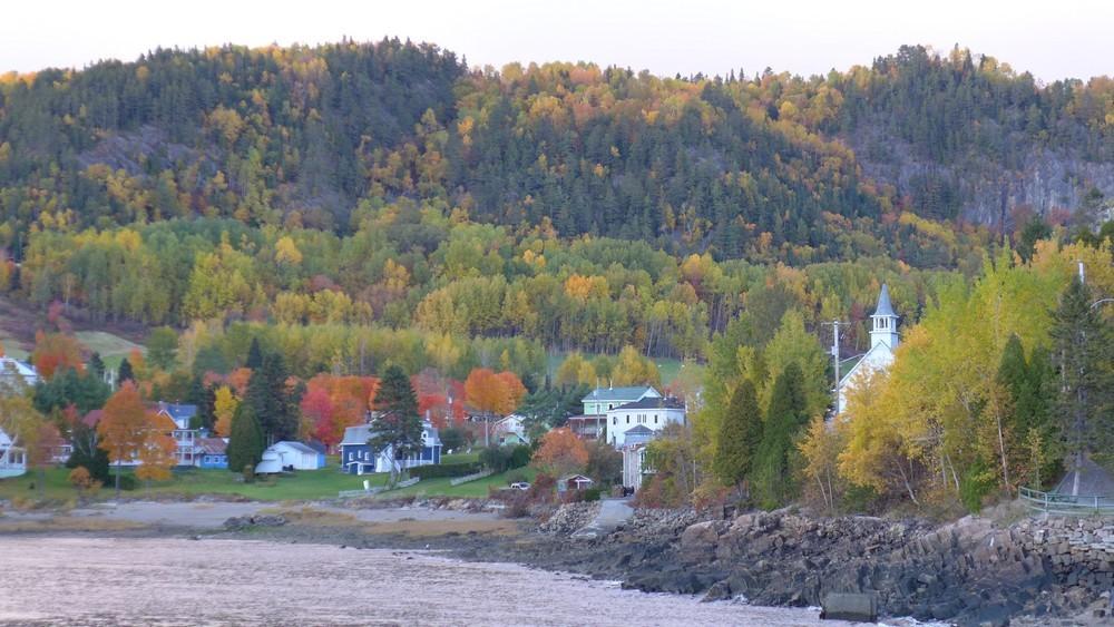 Sainte-Rose-du-Nord au Canada...