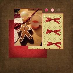 Cartes en digiscrap pour Noël