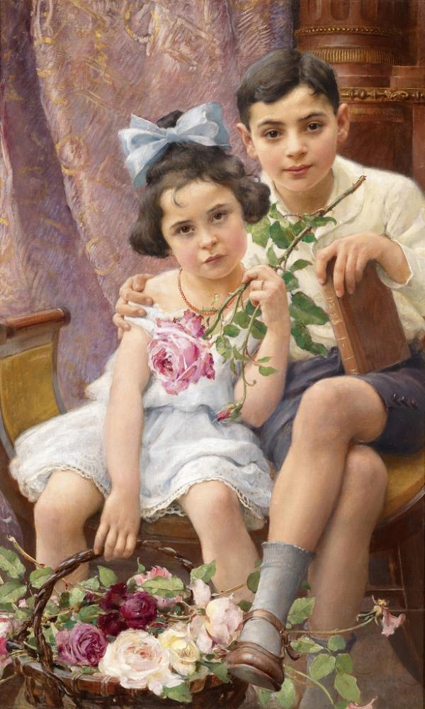Peinture de : Franz Dvorak