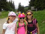 Promenade sur la plateau de Beauregard avec la classe d'Elodie.