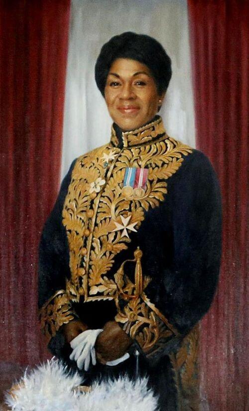 Black History: Mayann Francis.