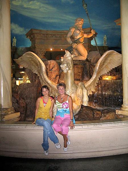 Las Vegas Caesars Palace intérieur nous