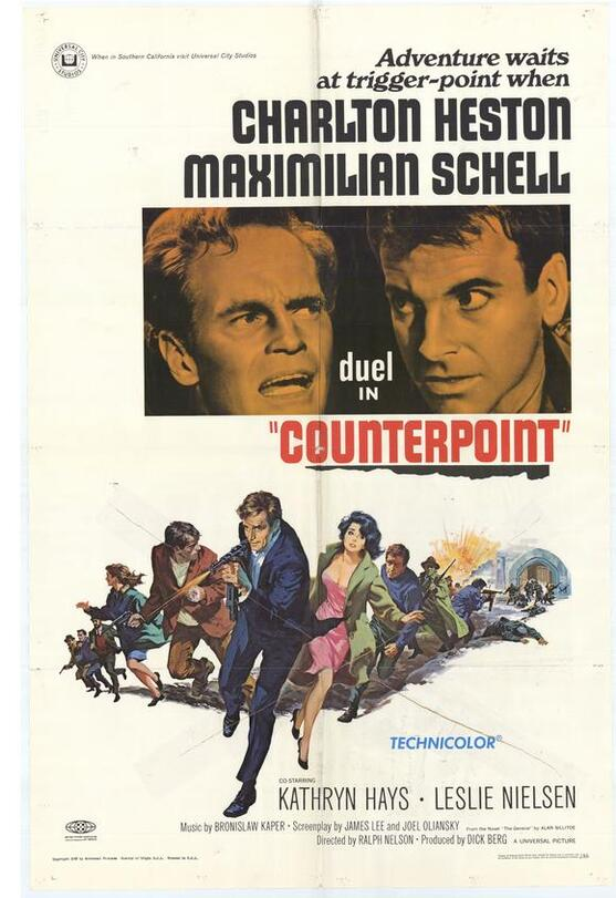 COUNTERPOINT  BOX OFFICE USA 1968