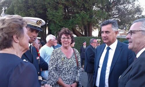 * 2 septembre 2019 : Fécamp a honoré le Compagnon Roland TERRIER (1er RFM) le jour de la commémoration de sa Libération
