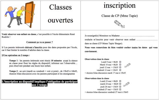 Classes ouvertes (N°2)